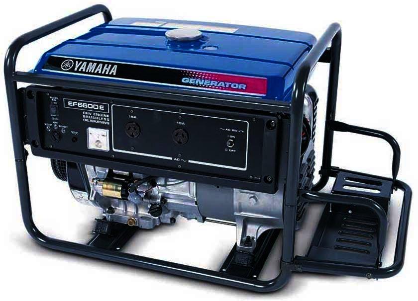 Генератор Yamaha  EF6600E в Благовещенске