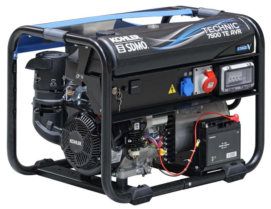 Генератор SDMO TECHNIC 7500 TE AVR M в Благовещенске